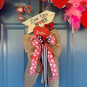 Valentine's Door Swag